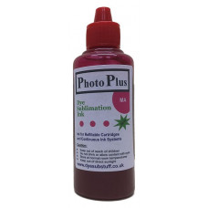 100ml of Magenta Ricoh Compatible  Sublimation Ink -  PhotoPlus Brand.
