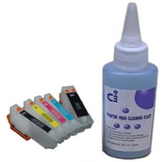 Sublimation Cleaning Cartridge Kit for Printer Models using Epson T2636 Cartridges.