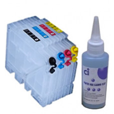 Sublimation Cleaning Cartridge Kit for Printer Models using Ricoh GC21 Cartridges.