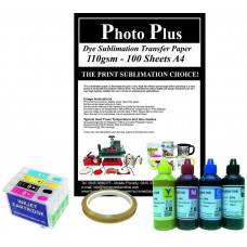 Dye Sublimation Accessory Kit for Epson Printers Using T1295 Cartridges.