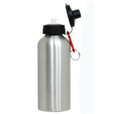 600ml Aluminum Sport Bottle With Pop-Top Cap